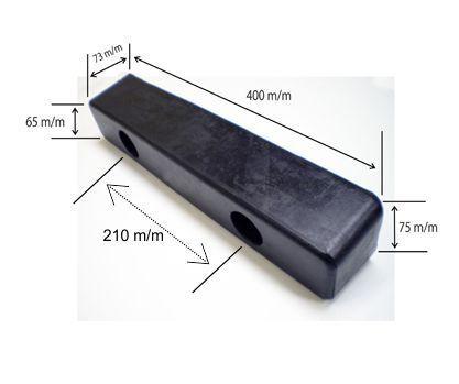 Taco rectangular para muelles y camiones 400 largo m m - Eguia e2f2cc15dbe56
